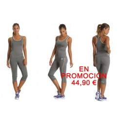 Conjunto FREDDY camiseta tirantes + pirata efecto PUSH UP para FITNESS