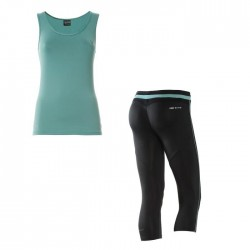 Conjunto FREDDY WR.UP: camiseta+pantalón con efecto PUSH UP
