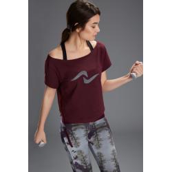 Naffta Active - Camiseta Manga Corta - Berenjena