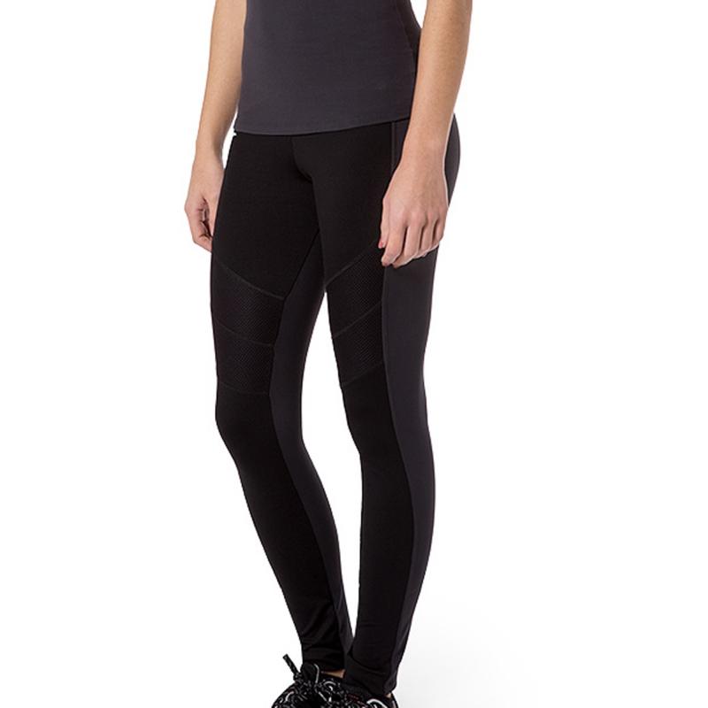 Naffta Active - Pantalon Pitillo Negro / Gris Ceniza