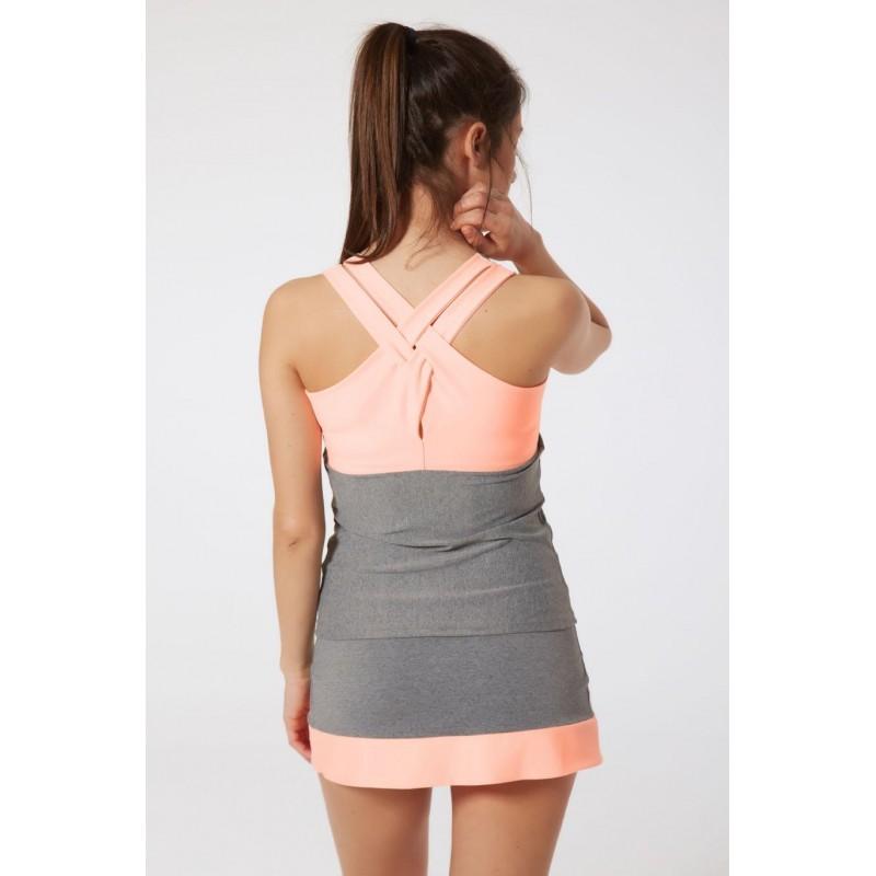 Naffta Padel - Conjunto Camiseta Tirantes / Falda Short