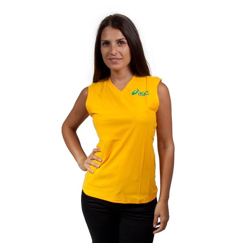 ASICS - Camiseta tirantes TRICOT WOMAN SUN