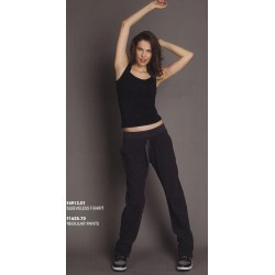 Dimensione Danza - Regular Pants Gris Cenizo